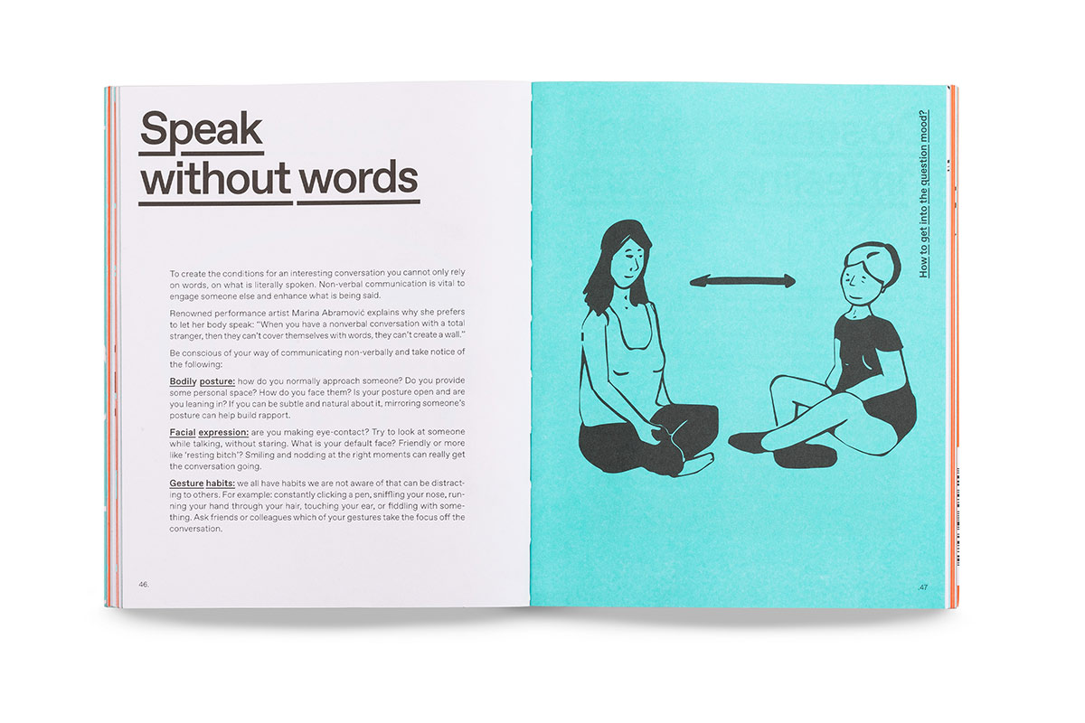 dare to ask book open question speak without words